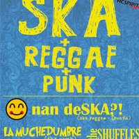 La Muchedumbre и The Shuffles с Nan deSKA?!