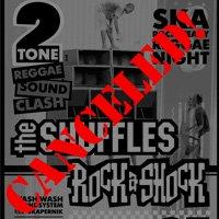 Днешният концерт на The Shuffles и Rock a Shock се отменя!