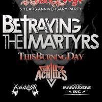 Четири банди ще подгряват Betraying The Martyrs
