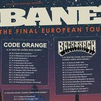 Bane включват България в последното си европейско турне
