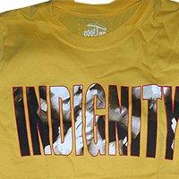 Indignity - тениски (жълта)