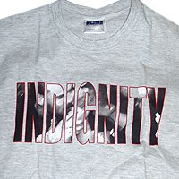 Indignity - тениски (светло сива)