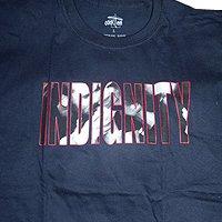 Indignity - тениски (тъмно синя)