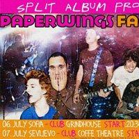 Пънк рок бандите Paperwings и Face-Off ще издават общ албум
