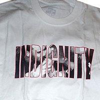Indignity - тениски (бяла)