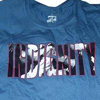 Indignity - тениски (синя)